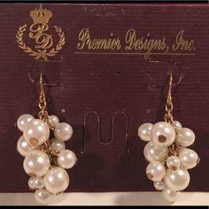 Pearlicious- Premier Designs earrings